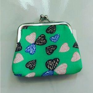 Handbags - Cute Heart Shape Pattern Little Coin Purse